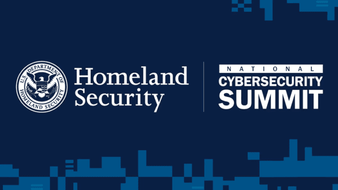 DHS National Cybersecurity Summit